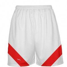 c52e3531b46 White Basketball Shorts from Lightning Wear. We manufacture custom basketball  uniforms in endless colors and styles.