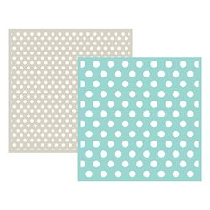 We R Memory Keepers - Embossing Folder - Polka Dot 6x6