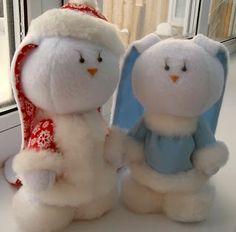 дед мороз и его дама