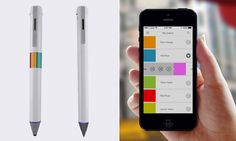 Scribble: A caneta que escaneia mais de 16 milhões de cores