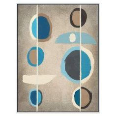 PTM Images Blue Motion II Canvas Wall Art - 9-41420B