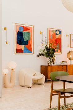 Architectural Digest, Soho Loft, Décoration Mid Century, Elsa Hosk, Dream Apartment, Home And Deco, Interiores Design, Interior Inspiration, Interior And Exterior