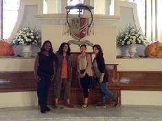 Part of my Environment team at my  spiritual home, the Basilica Cathedral of St Joseph in San Jose.