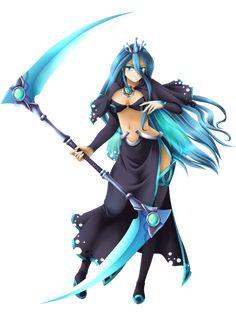 MLP FiM Humans - Chrysalis, Changeling Queen by Yatonokami.deviantart.com on @deviantART