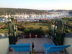 Aussicht von der Ferienwohnung - Ferienwohnung Lidi Apartment in Pula