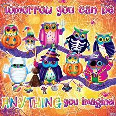 Lisa Frank Halloween