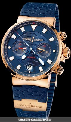 Ulysse Nardin Blue Seal Watch