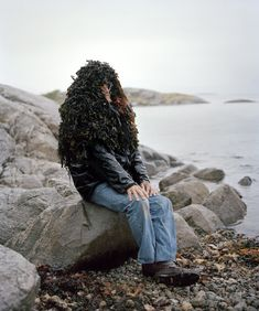 Eyes as Big as Plates is a whimsical series by Finnish photographer Riitta Ikonen and Norwegian photographer Karoline Hjorth that features senior citizens