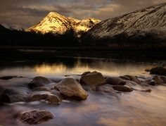 Glen Etive in the Scottish Highlands - by Wolfy via 500px