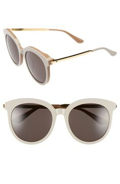 730e6b2fc63 Gentle Monster 56mm Round Sunglasses available at  Nordstrom Oversized  Sunglasses