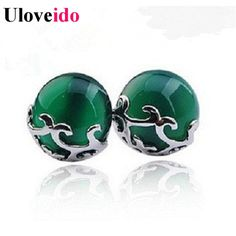 Find More Stud Earrings Information about Green Fashion Double Stud Earrings Jewelry White Red Crystal Earring Ball for Women Christmas Trinket Vintage Brincos Ulove C38,High Quality ball green,China ball plate Suppliers, Cheap ball motor from Uloveido Official Store on Aliexpress.com