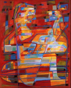 Alfred Manessier (1911- 1993) was a non-figurative French painter, stained glass artist, and tapestry designer, part of the new Paris School and the Salon de Mai.