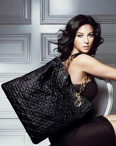 Monica Belluci en Dior.