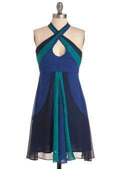 River of Romance Dress - Mod Cloth