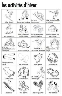 MUST check out - redo grade one and two programs based on vocab words and phonics. French Flashcards, French Worksheets, French Verbs, French Grammar, French Teaching Resources, Teaching French, How To Speak French, Learn French, French Education