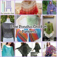 10 Free Crochet Poncho Patterns