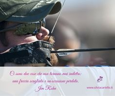 Ci sono due cose che non tornano mai indietro: una freccia scagliata e un'occasione perduta. Jim Rohn  #MotivationalMonday #SilviaCarielloConsulenteInformatico #Motivational #Motivazionali #Citazioni