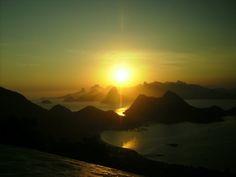 Rio de Janeiro desde Parque da cidade, Niterói - by Nina Paula