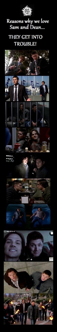 Reasons why we love Sam and Dean