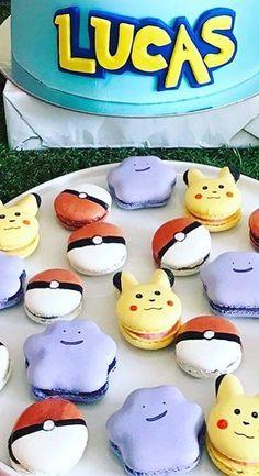 pokemon sweet macarons