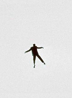 "Jimmy Stewart in ""Vertigo""'s nightmare sequence (1958, dir. Alfred Hitchcock)"