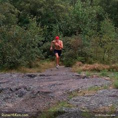Running uphill to greet the SUN!  Trail Run at Dawn in Lexington, MA. by runwithken, via Flickr
