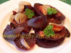 Řepa s česnekem a cibulí – Maminčiny recepty Meat Recipes, Pork, Meat Food, Beef, Fitness, Diet, Kale Stir Fry, Meat, Pork Chops