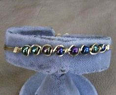Wire Wrapped Bracelet  Incredible Handcrafted by JewelryArtistry, $25.00