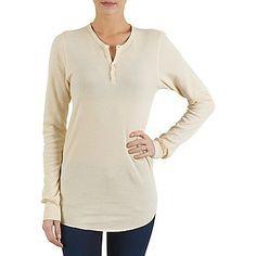 Μπλουζάκια με μακριά μανίκια American Apparel UNISEX BABY THERMAL LONG SLEEVE HENLEY  #joy #style #fashion