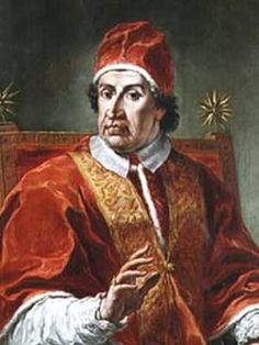 † Clement XI, in gratitude for another victory over the Turks at Belgrade charged in 1716., Extended the feast to the entire Church.