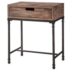 Threshold™ Mixed Material Side Table - Patchwork : Target Mobile