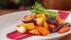 Maple-Roasted Root Vegetables