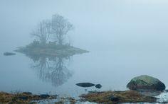 tåken kommer. The fog