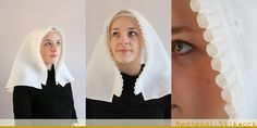Medieval Sew n' Sew: A Beautiful Swedish Frilled Veil