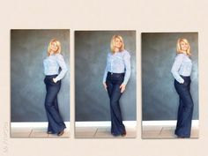 #stefanelvigevano #stefanel #moda #look #donna #girl #foto #photo #instagram #instagood #instalook #vigevano #lomellina #piazzaducale #stile #blondie #pantalone #jeans #camicia #pois #azzurro #stile #style #outfit