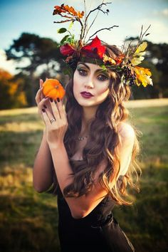 autumn fairy headdress