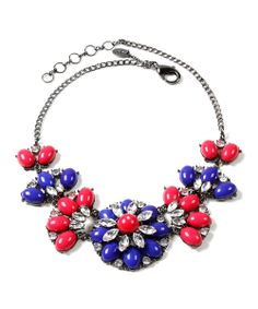 Crystal Sammy Bib Necklace