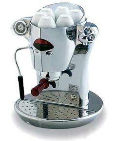 la cafetera , sin ella  la mañana  serìa màs triste