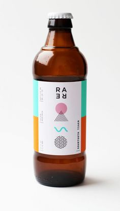 Rare Barrel – A Sour Beer Co. Rare Barrel – A Sour Beer Co. on Packaging of the World – Creative Package Design Gallery Bottle Packaging, Brand Packaging, Design Packaging, Coffee Packaging, Pretty Packaging, Food Packaging, Branding Design, Beer Label Design, Beer Logo Design