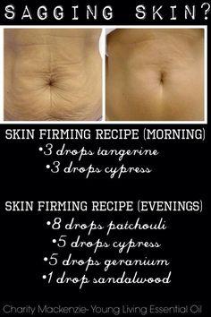 Remedio casero para reafirmar la piel