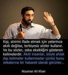 Nouman Ali Khan, Literature Books, Meaningful Words, Mood Quotes, Wisdom Quotes, Islamic Quotes, Cool Words, Favorite Quotes, Einstein