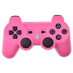 Finer Shop Wireless Bluetooth Dualshock Game Controller for SONY Playstation 3 PS3 - Pink
