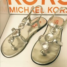 Michael Kors Sandals Size 2 Just gorgeous for little girls! Michael Kors Shoes Sandals