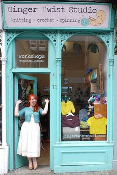 Ginger Twist Studio - Indie Vintage Yarn Shop in Edinburgh   Knitting Crochet Spinning