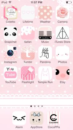 Customized iPhone! Do it yourself with the app Cocoppa - I ...