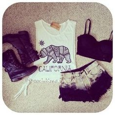 teen fashion | Tumblr love the skatr look for girls #trending