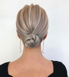 60 Trendiest Updos for Medium Length Hair Hair Hairstyles For Medium Length Hair Easy, Medium Hair Styles, Curly Hair Styles, Bride Hairstyles, Trendy Hairstyles, Hairstyle Ideas, Bridesmaid Hairstyles, Wedding Hair And Makeup, Hair Makeup