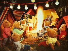 stereomat_slides_07 (iiyyyii) Tags: camping film tents bears bonfire lanterns slides vintagetoy vintageslides stereomat