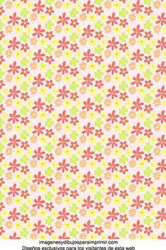Papel de flores para imprimir-Imagenes y dibujos para imprimir