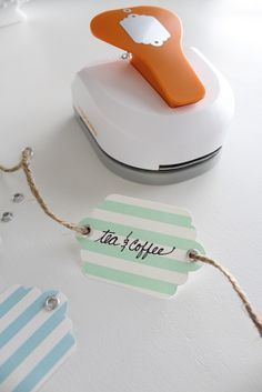 Organizing With The Cutest Little Tag Maker - organization - pantry - spring cleaning - Simple Stylings www.simplestylings.com